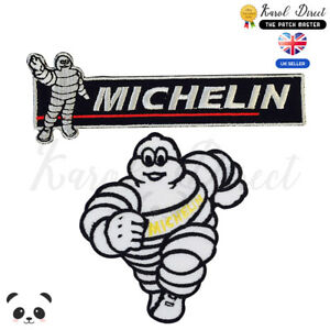 Michelin-Racing-Sponsor-Embroidered-Iron-On-Sew-On-Patch-Badge-For-Clothes-etc