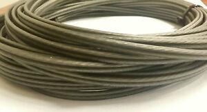 50 Feet Stinger HPM Series 16 Gauge AWG Matte Gray Copper Speaker Wire SHW516G