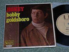 BOBBY GOLDSBORO Honey ~ Australian UNITED ARTISTS 7-inch EP + PVC i/s UAX-11,492