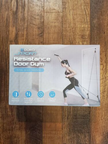 Aduro Sport Resistance Door Gym Total Body Home Workout Active Weight Tone