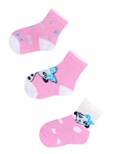 Bébé Garçon Fille Coton Chaussettes 3 Paires Set beaucoup de couleurs confortables Chaussettes