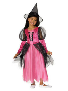 Fashionista-Pink-Cotton-Candy-Witch-Girls-Costume-by-Rubies-18800
