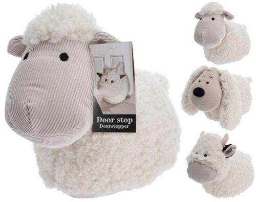 Grand lourd tissu Animal Nouveauté Porte Stop Porte Bouchon chien//éléphant//jouet pour chat