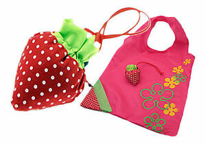 Foldable-Storage-Grocery-Eco-Bag-Friendly-Strawberry-Reusable-Shopping-Tote-UK