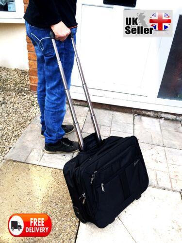Executive Roue Sac d/'ordinateur portable bureau d/'affaires Voyage Cabine case Mallette