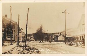 Rexville-NY-Real-Photo-PC-u-1911-Church-Street