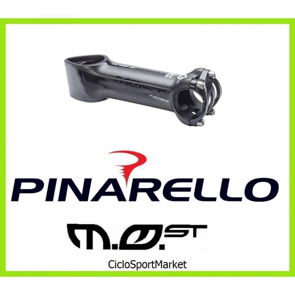 Soporte Manillar Pinarello TIGER ULTRA AERO 3K Mate Negro Cochebono 2019