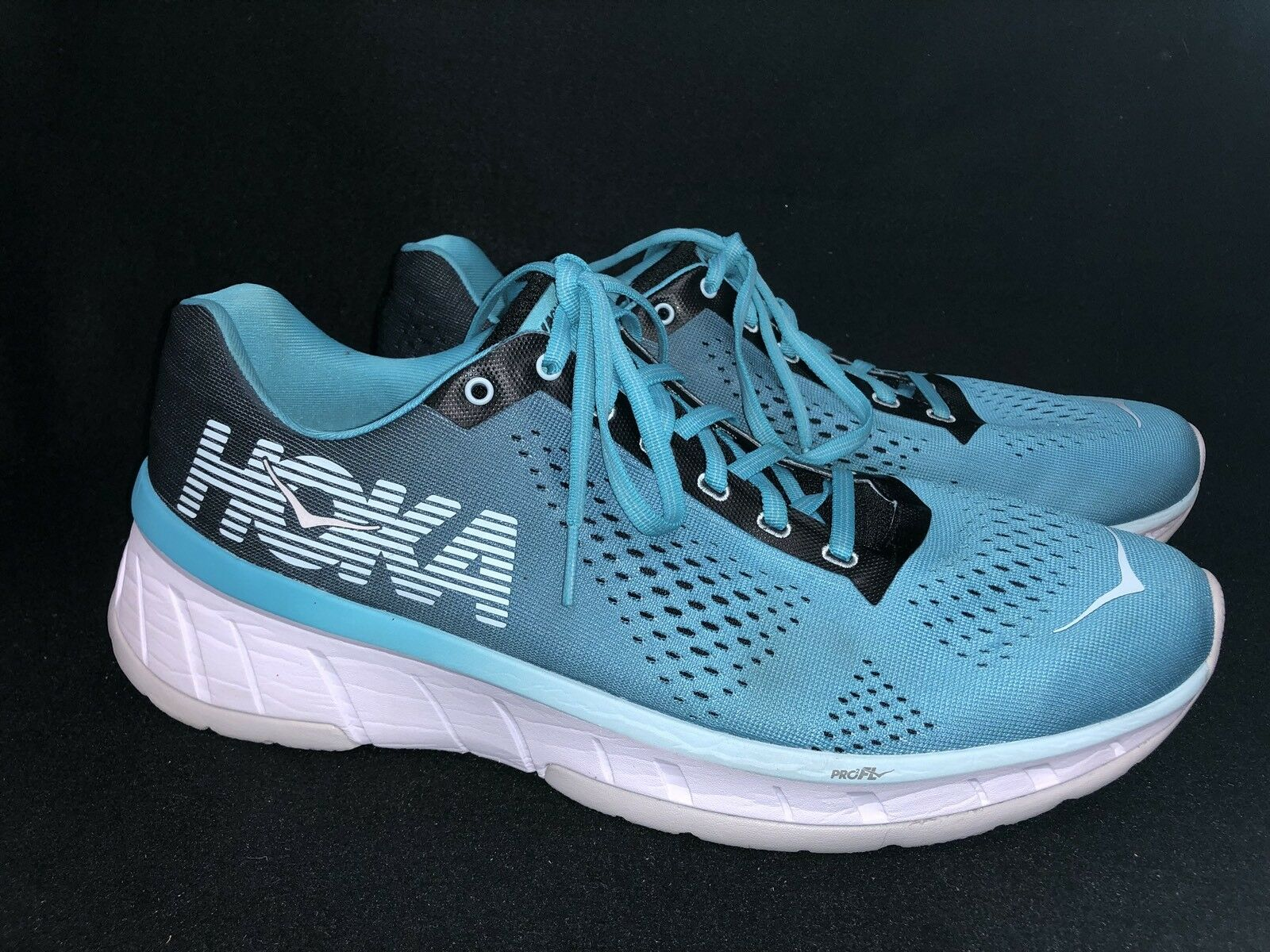 Hoka One One HIBISCUS Cavu VINTAGE INDIGO / HIBISCUS One 1019282 Tennis Running schuhe Lace Up b2f1c9