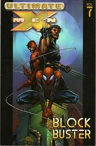 Ultimate-X-Men-Block-Buster-Vol-7-TPB-Softcover-Marvel-Comics-2nd-Print-VF