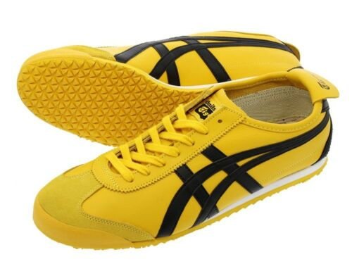 NEW Onitsuka Tiger MEXICO 66 Yellow//Black THL202 Shoes from Japan