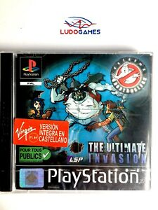 Ghostbusters-Ultimate-Invasion-Psx-PS1-PLAYSTATION-Neuf-Scelle-Scelle-Eur