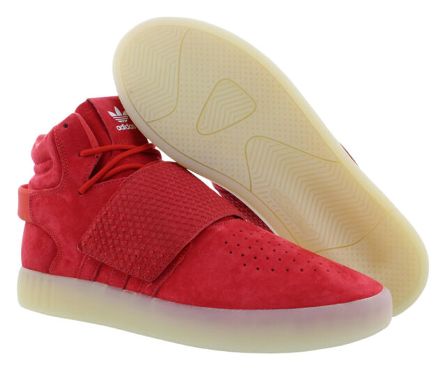 best cheap 0d7a3 558b0 Authentic adidas Tubular Invader Strap Red October White Bb5039 Men Sz 11