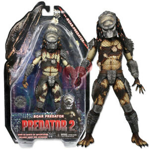 NECA-Boar-Predator-Masked-Hunter-7-inch-Action-Figure-Collection-Series-4-New