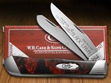 CASE XX Slant Series Black Lava Corelon Trapper 1/2500 Pocket Knife Stainless