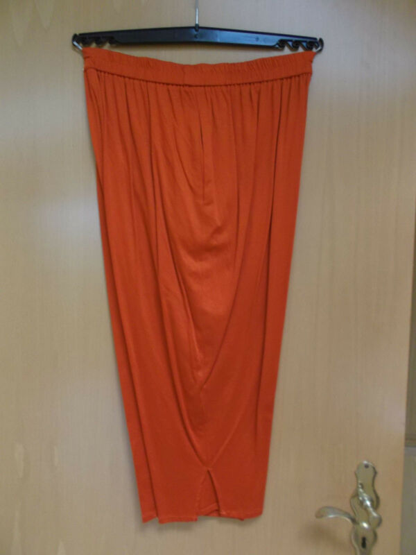 7/8 Hose Aus Baumwolljersey In Farbe Orange, Gr. 50