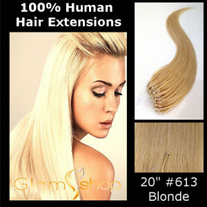 20-034-STRAIGHT-LOOP-MICRO-RING-BEAD-100-Human-Remy-Hair-Extensions-50g-613BLONDE