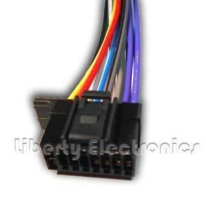 s l300 new 16 pin wire harness for sony mex n5000bt player ebay  at soozxer.org