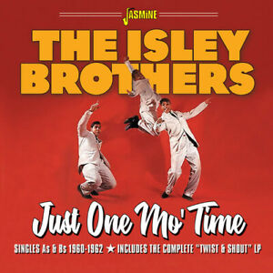 The-Isley-Brothers-Just-One-Mo-039-Time-Singles-As-amp-Bs-1960-1962-CD-2019