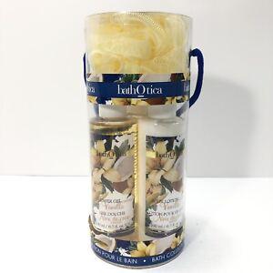 Bath Otica Coconut Vanilla Bath Collection Shower Gel, Body Lotion & Bubble Bath