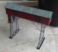 Vintage HO Scale Factory Train Car Loader Structure LOOK