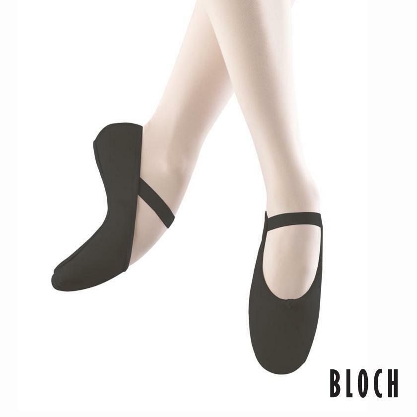 CLOSING DOWN SALE - Bloch Arise Full Sole Leather Ballet Shoe PINK OR BLACK