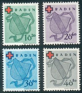 Alliierte-Besetzung-Baden-Mi-nr-42a-45-A-Michel-110-00-Pracht