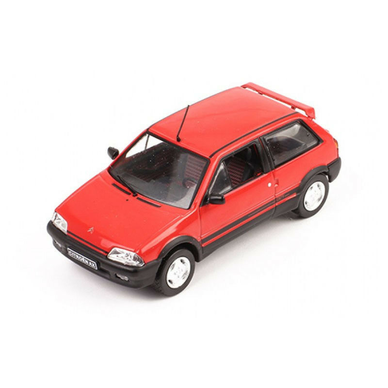 Ixo CLC222 Citroen Ax Gti Red Scale 1 43 Model Car New  °