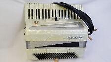 "Marca D'oro Piano Accordion ~ 2/4 Reeds - 120 Bass ~ 16.75"" Keyboard ~ Italian"