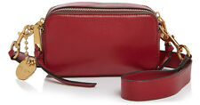 NWT Marc Jacobs Recruit Crossbody Leather Small Camera Bag in Ruby Rose