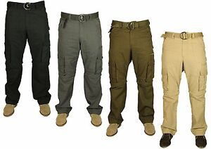 Mens-KAM-K119-Casual-Cargo-Combats-Pants-Trousers-Work-Walking-Latest-30-60