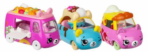 Shopkins Cutie confezione 3 AUTO DIE CAST SERIE 2-dessert Driver Collection
