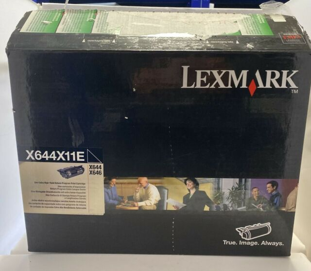 Genuine Lexmark X644X11E Original Black Toner (X644 / X646) ** NEW OPENED BOX **