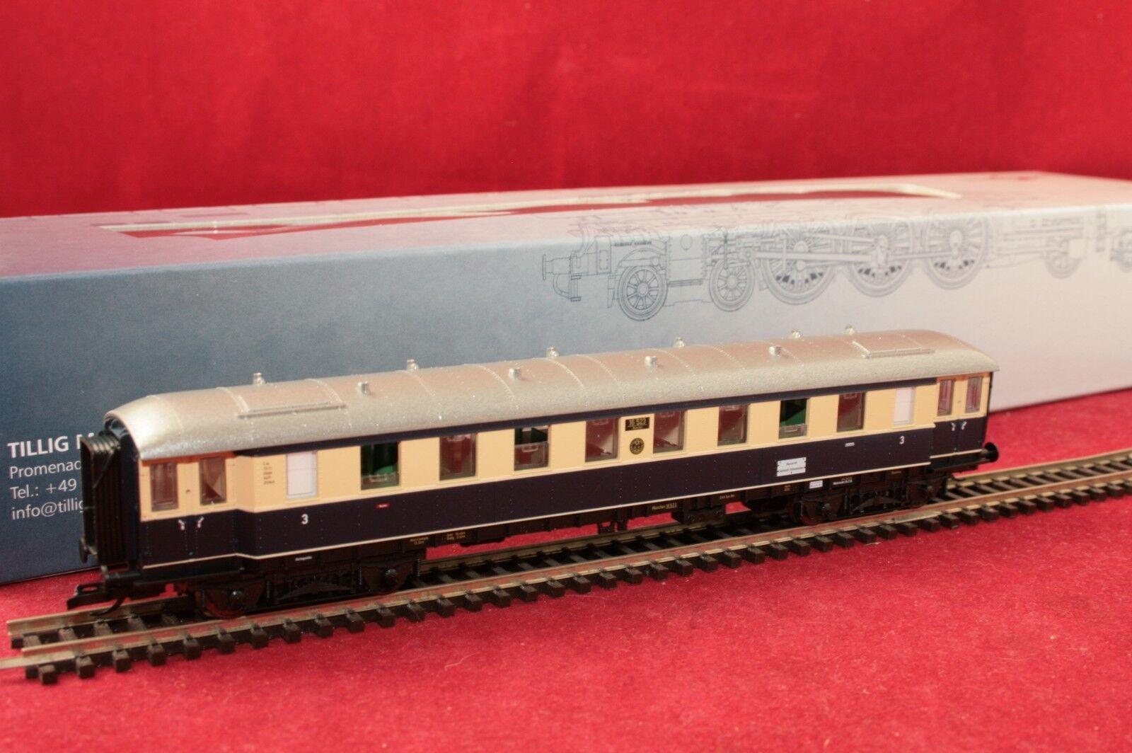 Tillig traccia TT 01757-2 DRG viaggiatori 3. classe  Karwendel-Express  EP. II/Nuovo