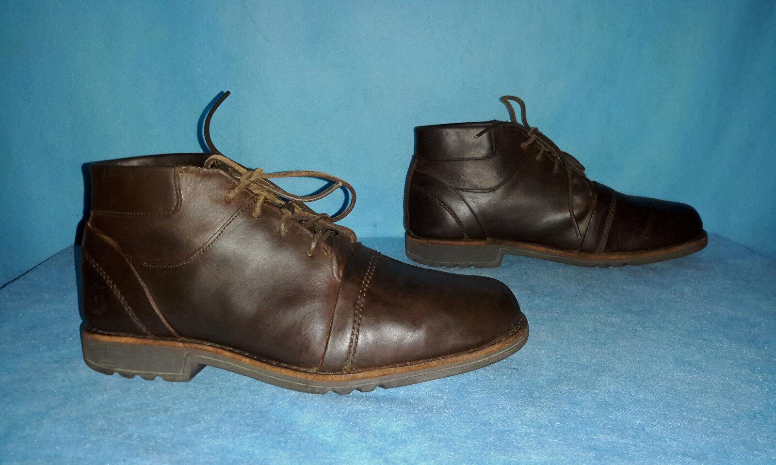 Stiefel Stiefeletten TIMBERLAND Leder S. 40 de oder 7,5 w w w sehr guter Zustand 57ec71