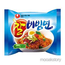 [Nongshim] Chal Bibimmun Sweet Spicy Cold Tasty Korean Food Noodles 130 g