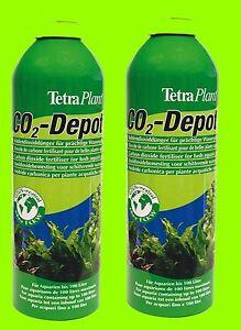 tetra co2 depot 2 pi ces bouteilles de rechange pour co2 optimat ebay. Black Bedroom Furniture Sets. Home Design Ideas