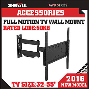 X-BULL-TV-Wall-Mount-Bracket-32-40-42-43-47-48-49-50-55-Inch-Full-Motion-Swivel