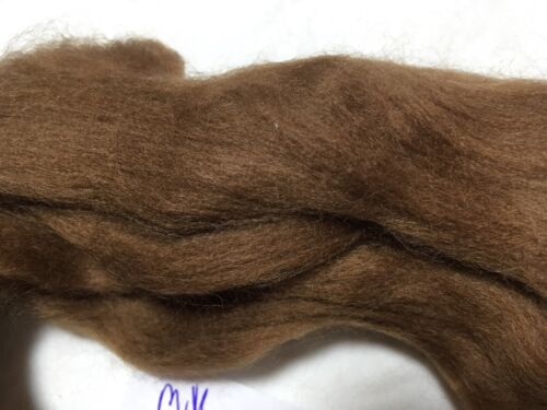 Spinning Milk Chocolate Brown Wool 10g Merino Wool For Felting Fibre Arts