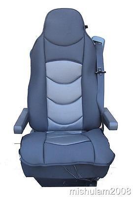 Sitzauflage LKW-Sitz Sitzbezug Sitzschoner Grau für MERCEDES BENZ ACTROS ATEGO