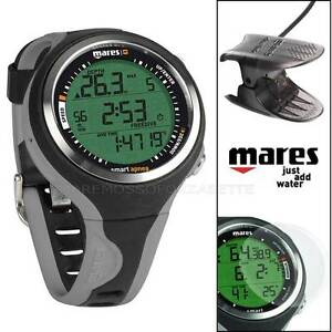 MARES-SMART-ORDINATEUR-SOUSMARIN-APNEE-HORLOGE-GREY-INTERFACE-DIVE-INTERFACE