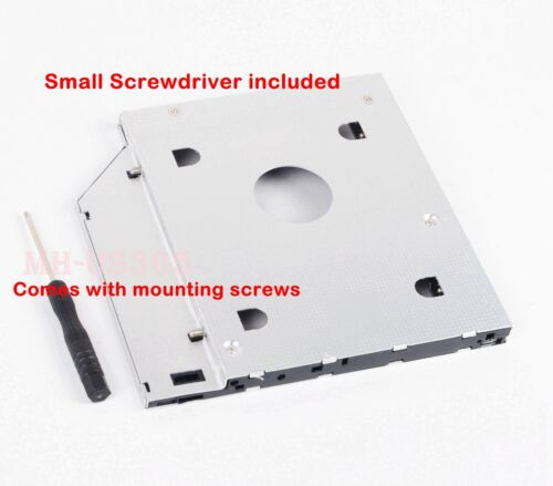 2nd Hard Drive HDD SSD Caddy Adapter for Dell Insipiron 15 3000 3541 3542 3543