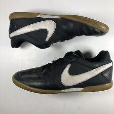 chatarra En segundo lugar Galantería  Nike Davinho Mens Sz 12.5 Futsal Indoor Soccer Cleat Shoes Black White for  sale online | eBay