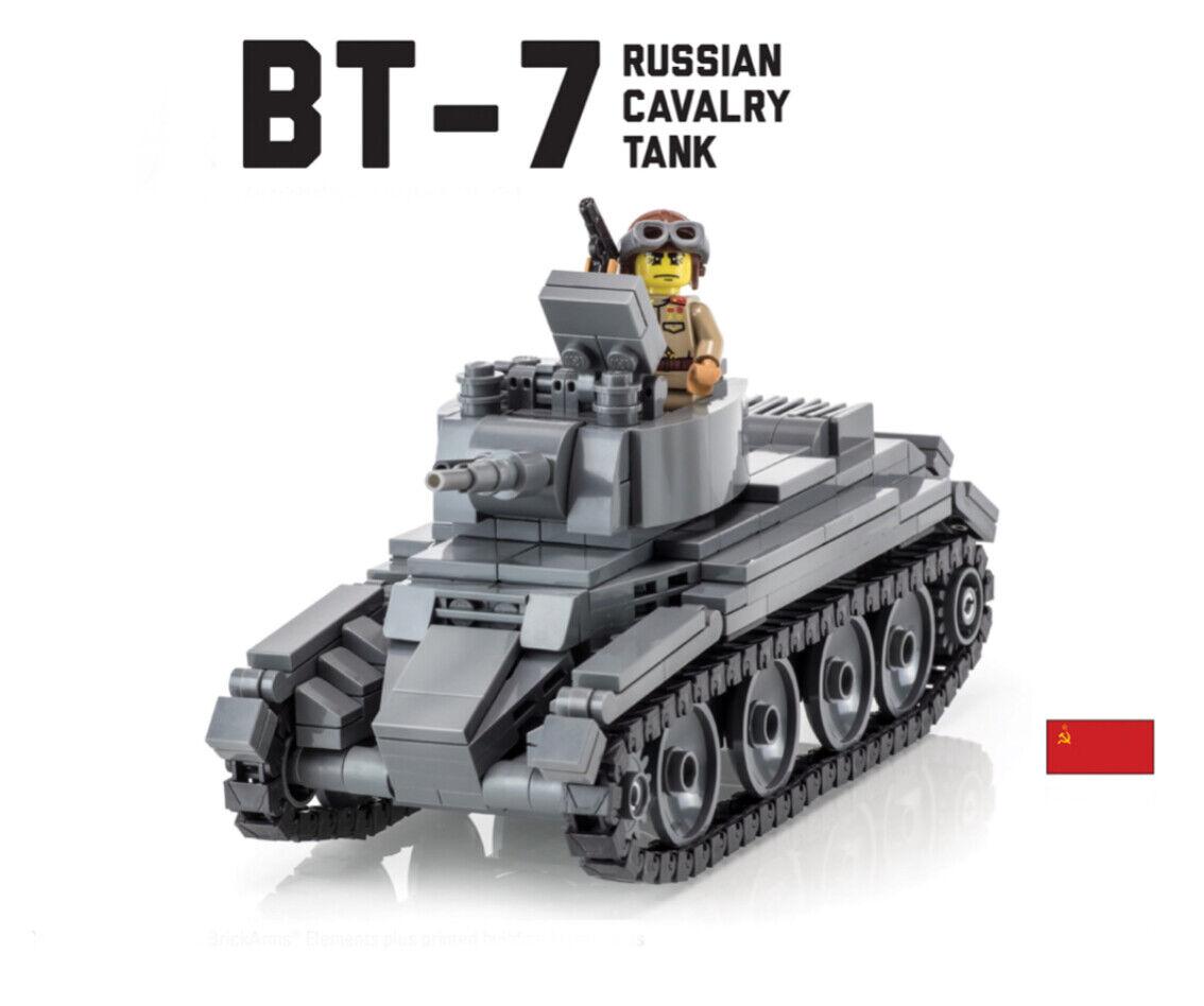Lego ww2 Brickmania BT-7 Tank Panzer