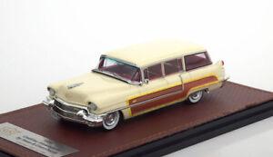 Série 62 de Cadillac par Hess & Eisenhardt 1956 White Glm 120302 1/43 Resine Weiss