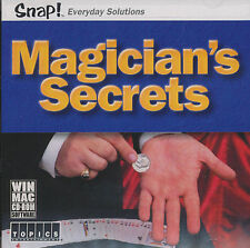 MAGICIAN'S SECRETS How to Magic Tricks PC/Mac NEW