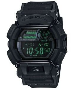 Casio-G-Shock-Digital-Mens-Black-Military-Series-Watch-GD-400MB-1DR
