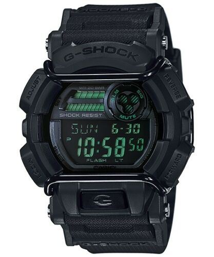 1 of 1 - Casio G-Shock Digital Mens Black Military Series Watch GD-400MB-1DR