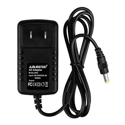 AC//DC Adapter Charger For CHAUVET OBEY 40 70 4 3 10 LED DMX DJ Controller Power