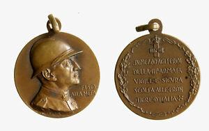 s1490-3-MEDAGLIA-EM-FILIBERTO-SAVOIA-DUCA-3-ARMATA-1931-WW1-FISO-ALLA-META-28