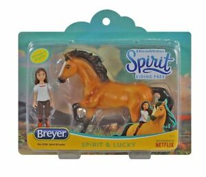 Breyer-Spirit-Riding-Free-Spirit-and-Lucky-Small-Horse-and-Doll-Toy-Set